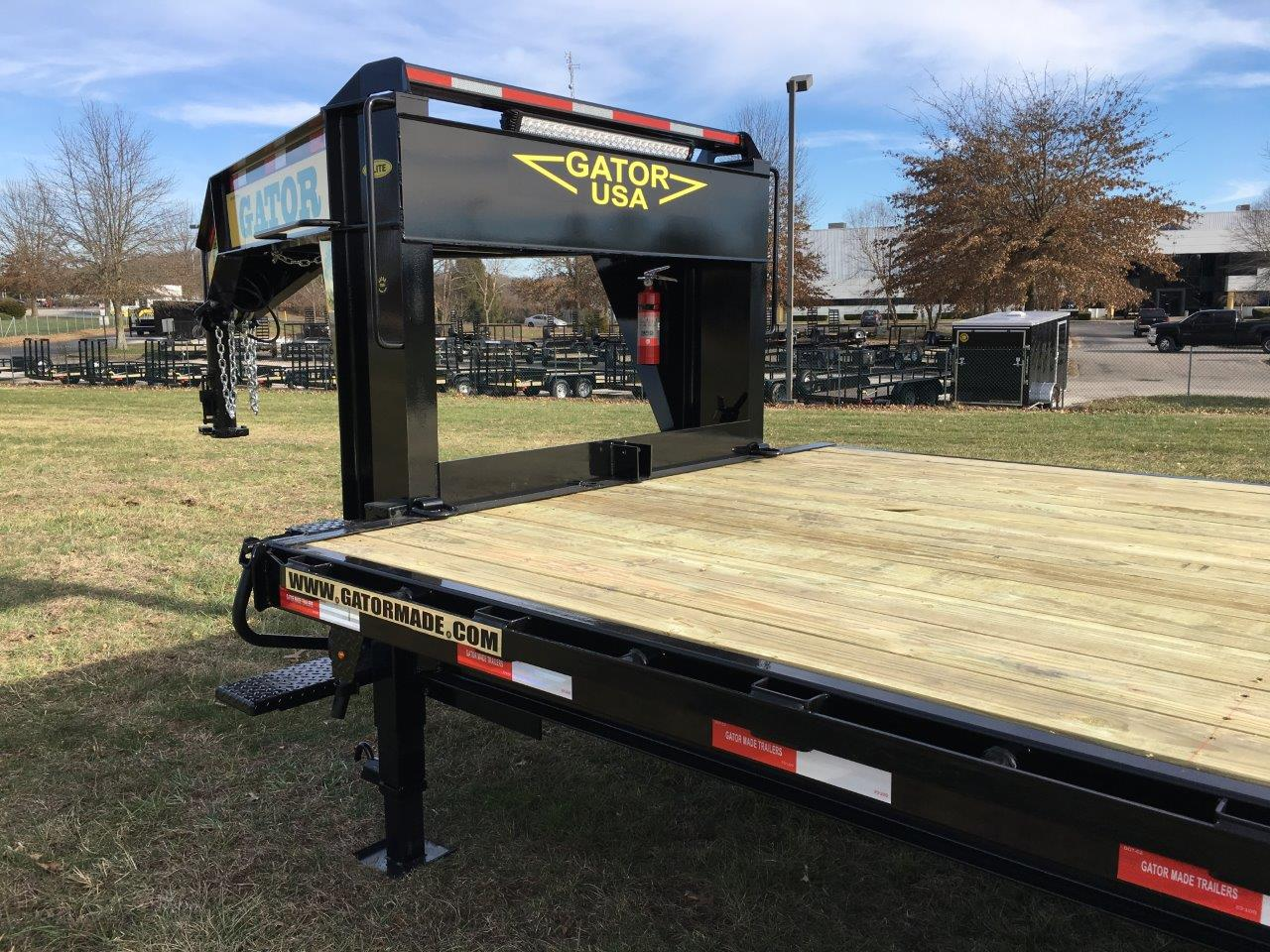 The 16k tandem gooseneck trailer gatormade trailers 11 swarovskicordoba Image collections