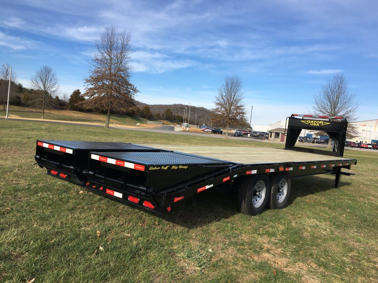 the 16k tandem gooseneck trailer gatormade trailers wiring led light bar on ram wiring led light bar to battery