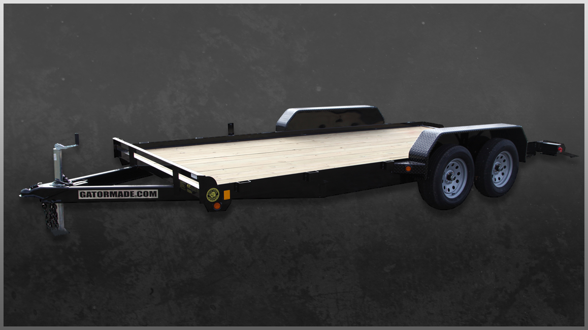 Heavy-Duty, Professional Grade Car Hauler Trailers - Gatormade Trailers