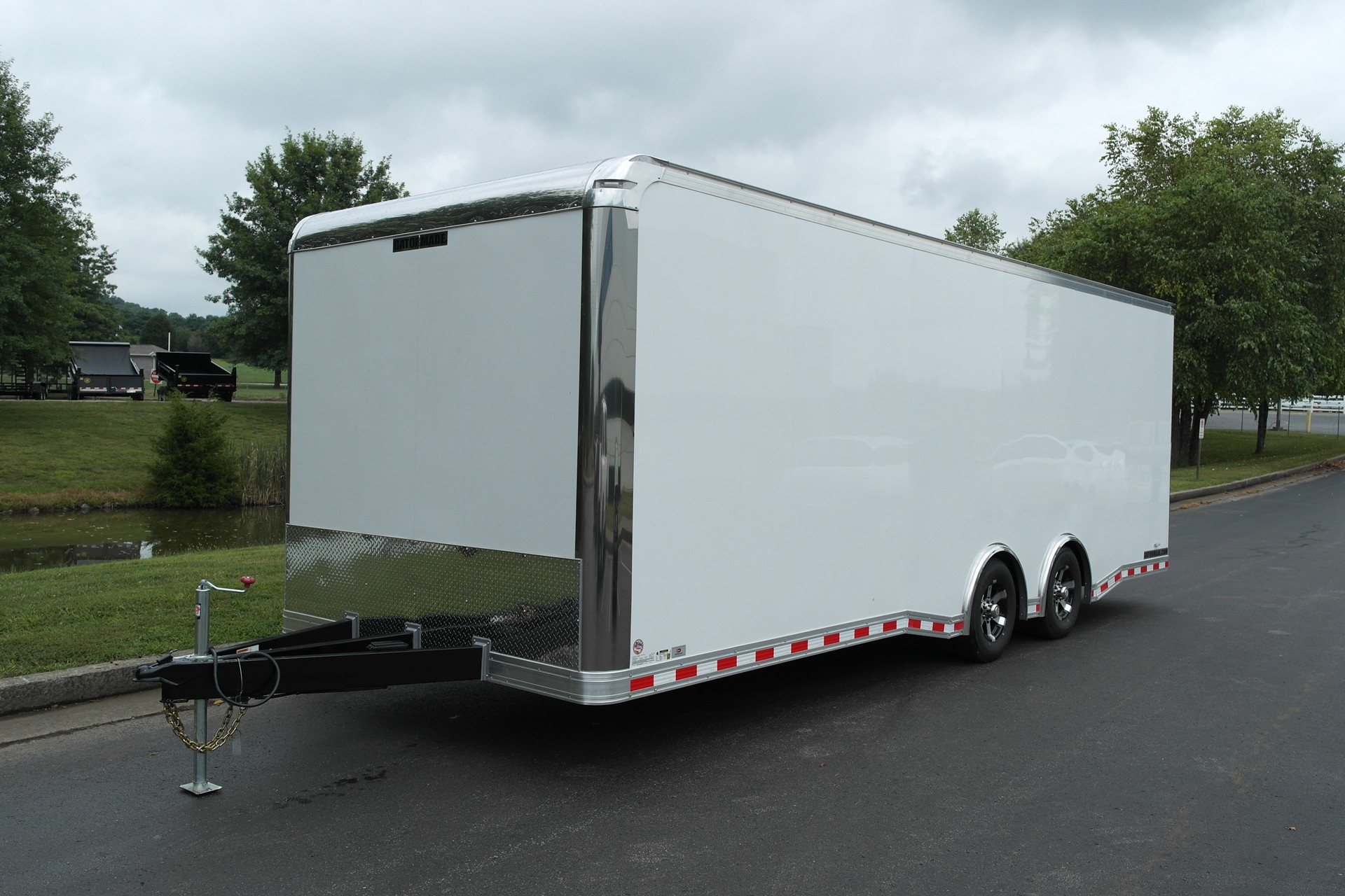 The Gatormade Premiere Series 10K Car Hauler Enclosed Cargo Trailer