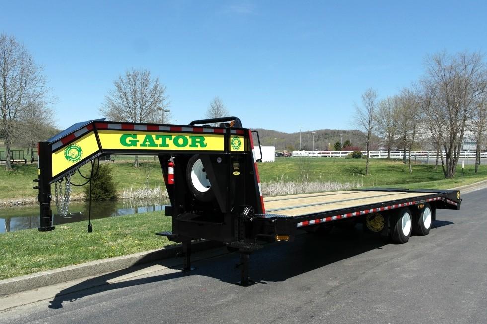 gooseneck trailer 30k dual tandem axle gatormade trailers. Black Bedroom Furniture Sets. Home Design Ideas