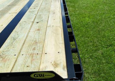Pintle Hitch Equipment Trailer 22k GVWR (Wide Ramps)