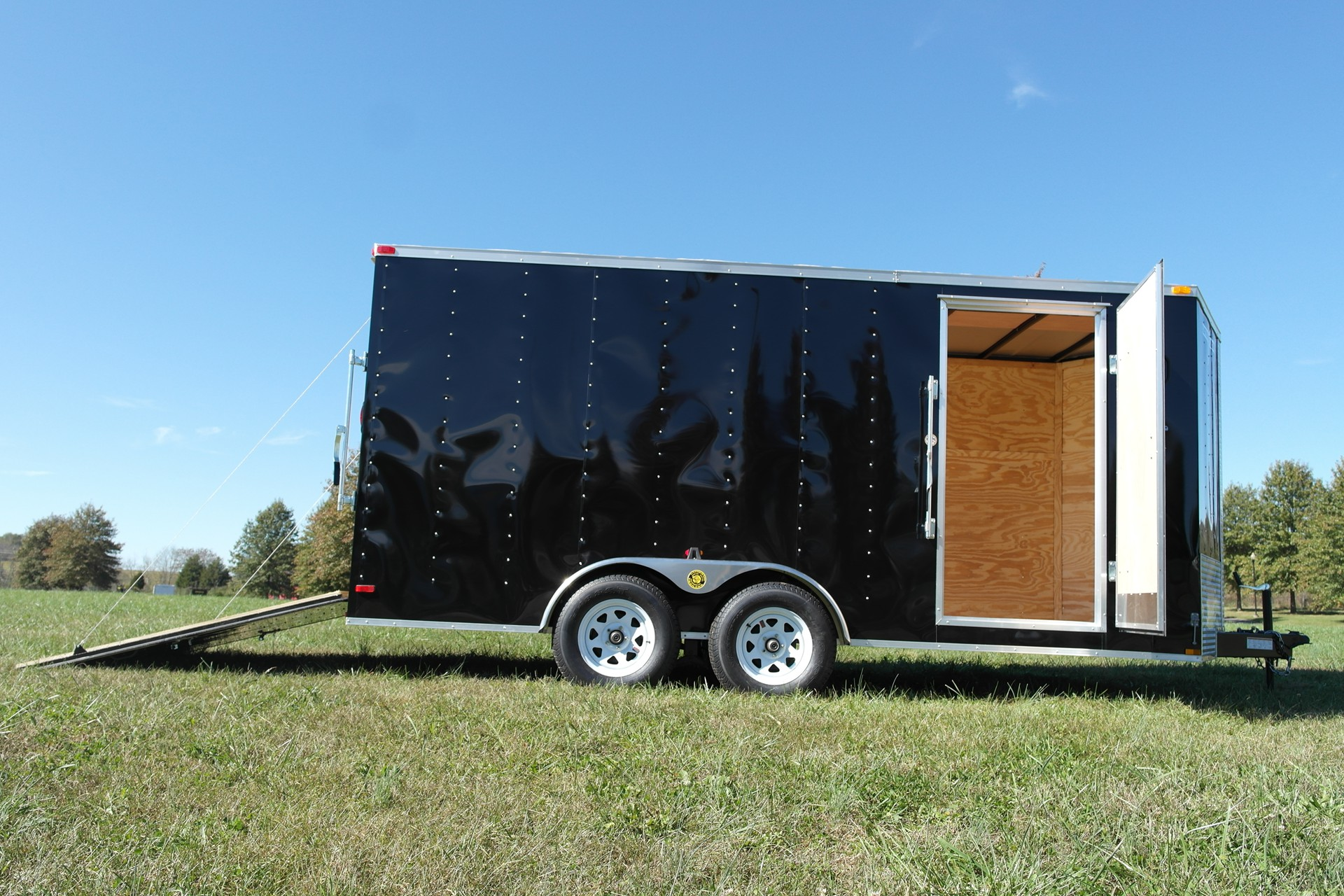 7x16 Enclosed Cargo Trailer 7k Gatormade Trailers