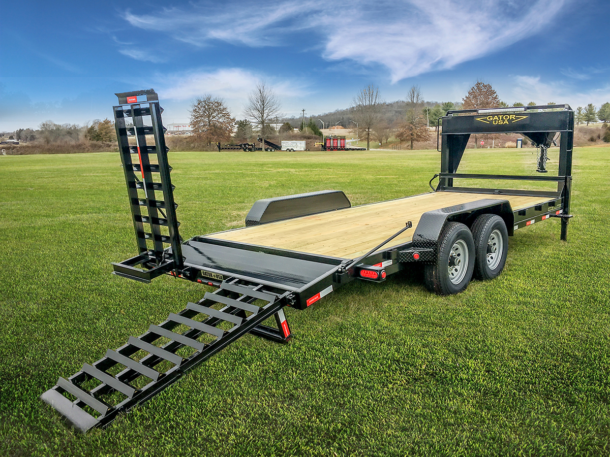 Gooseneck Trailer 14k Low Profile Elite Series Gatormade