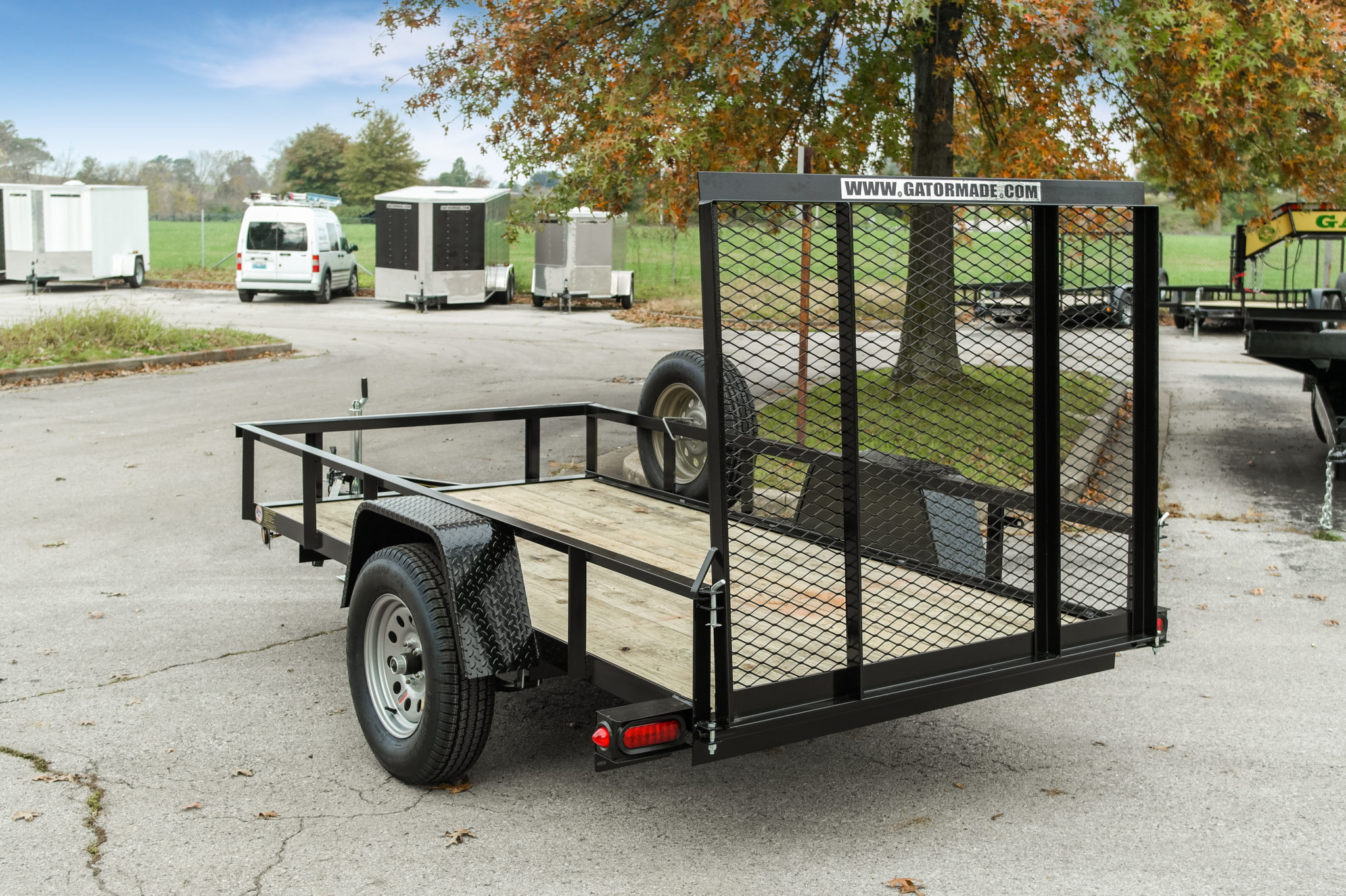 Heavy duty professional grade 5x10 utility trailers for 5x10 wood floor trailer