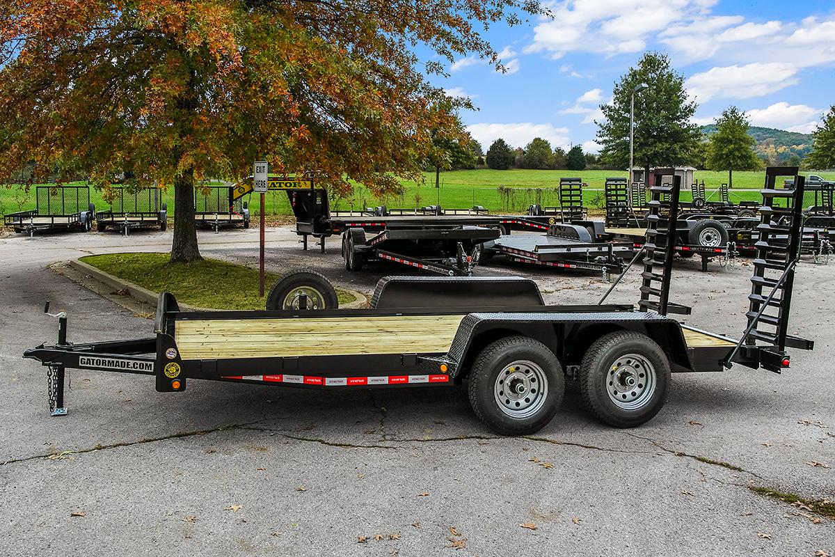Bobcat Trailer Fenders : Equipment trailer gt xt lb gvwr gatormade trailers