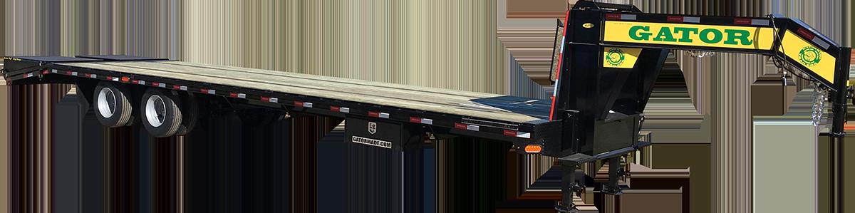 Gooseneck Trailer 30k Dual Tandem Axle Gatormade Trailers