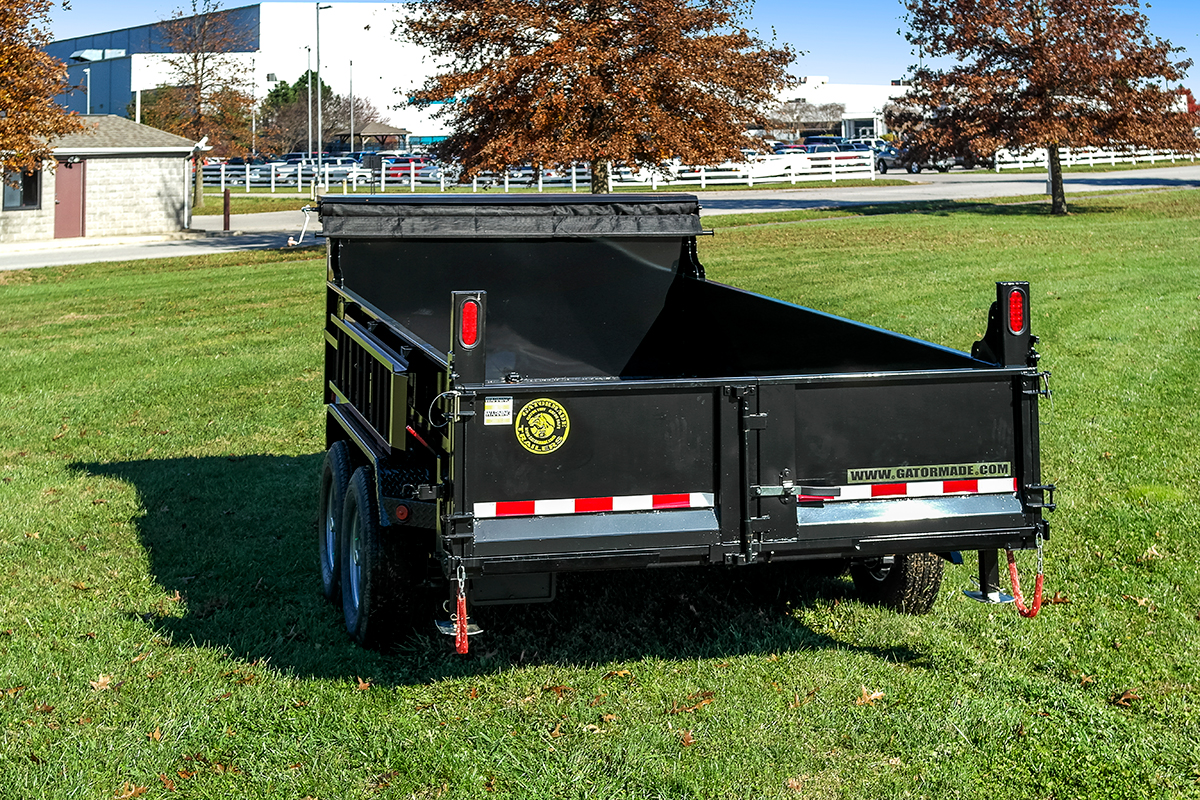 Heavy duty professional grade dump trailers gatormade trailers 5 swarovskicordoba Image collections