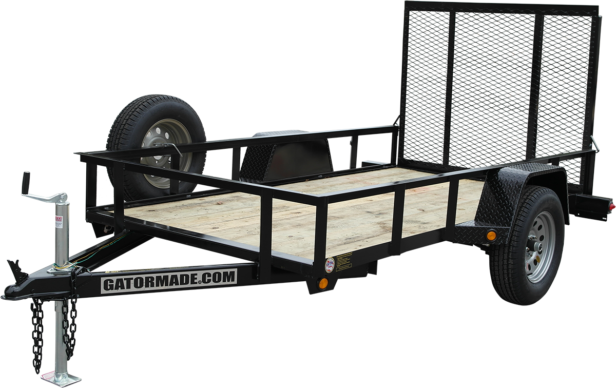 Heavy-Duty, Professional Grade 5x10 Utility Trailers - Gatormade