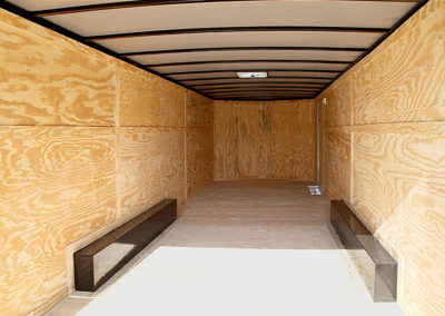 Enclosed Cargo Trailer 8 ft 5 inch x 20 ft Tandem Axle