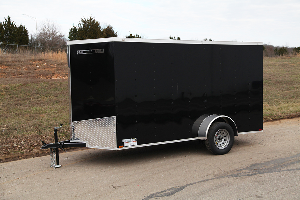6x12 Enclosed Cargo Trailer Gatormade Trailers