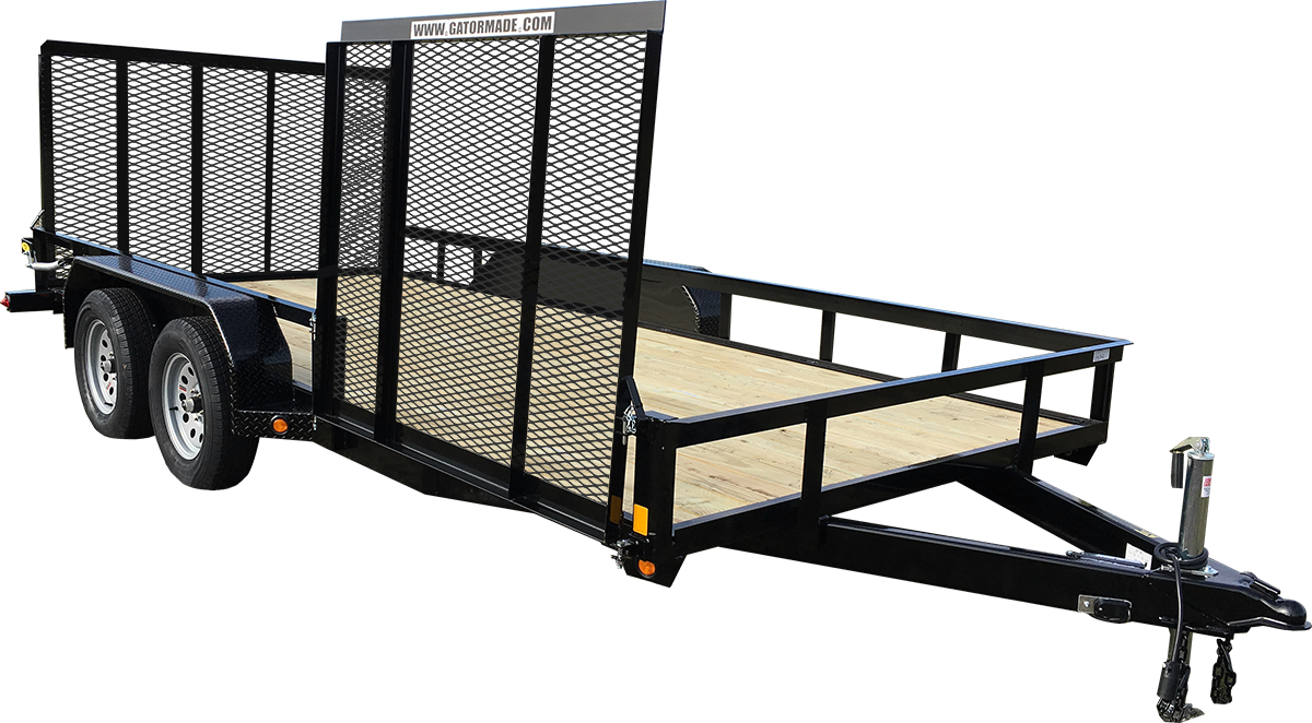 Utility Trailer  Inch X 16 Ft Side And Rear Gate