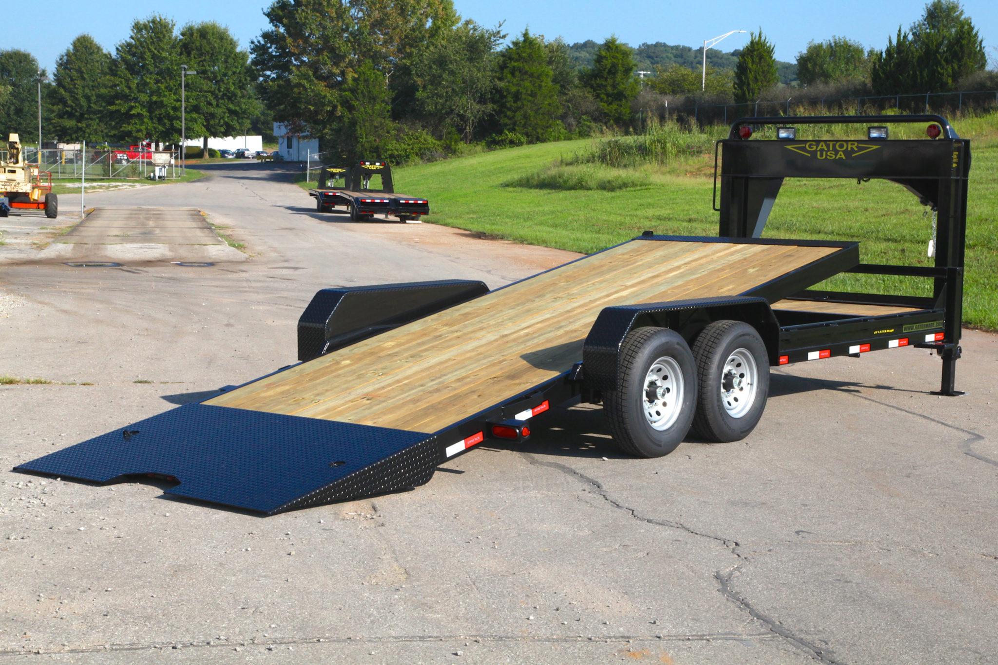 heavy duty professional grade gooseneck tilt bed trailer. Black Bedroom Furniture Sets. Home Design Ideas