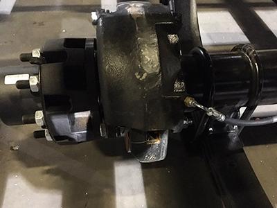12K Hydraulic Disc Brake Axles