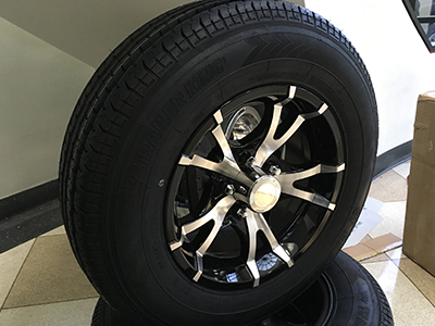 Aluminum Wheels 5 Lug Single Axle