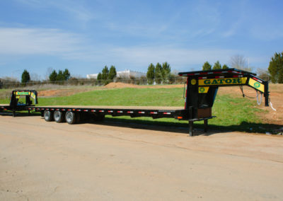 Custom 40ft 30k Hotshot Trailer