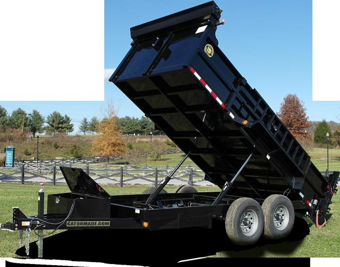 7x14 14k bumper pull dump trailer gatormade trailers7x14 14k bumper pull dump trailer