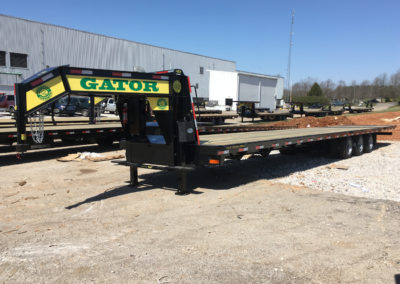 Triple Axle 37.5k Hydraulic Dovetail