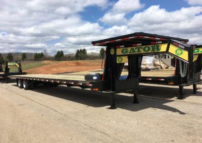 Custom 40-ft Straight Deck Gooseneck
