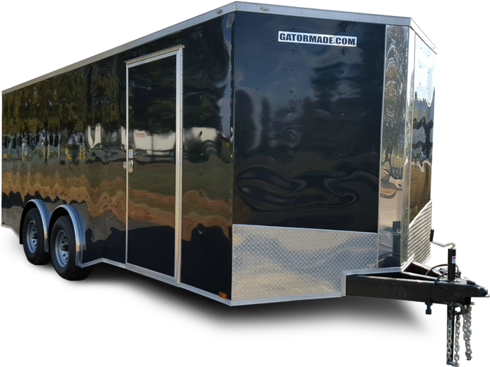 Enclosed Cargo Trailer 8 Ft 5 Inch X 20 Ft Tandem Axle Gatormade
