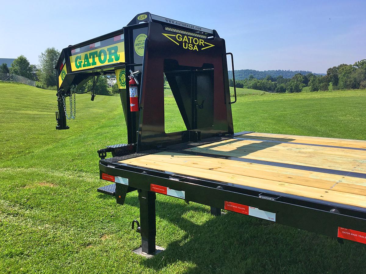 Gooseneck trailer with hydraulic dovetail gatormade trailers img3963 swarovskicordoba Image collections
