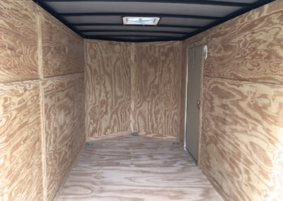 6x12 gatormade enclosed cargo trailer
