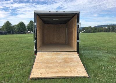 7x16 gatormade enclosed cargo trailer